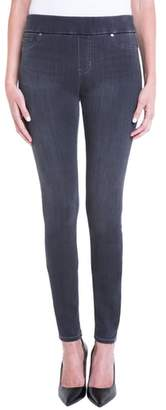 Liverpool Sienna Pull-On Knit Denim Leggings