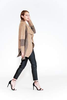 Yigal Azrouel Two Tone Patchwork Cardigan