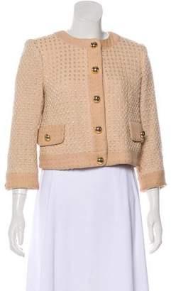 Milly Wool-Blend Tweed Blazer