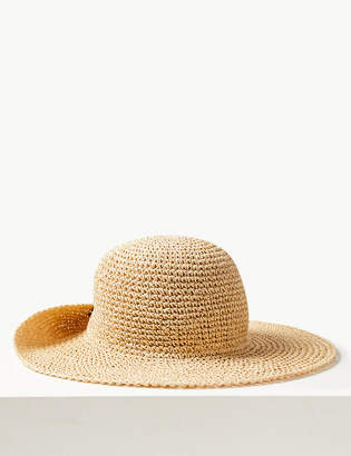 Marks and Spencer Crochet Look Plain Sun Hat