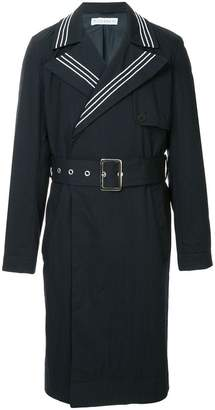 J.W.Anderson belted double-breasted trench-coat