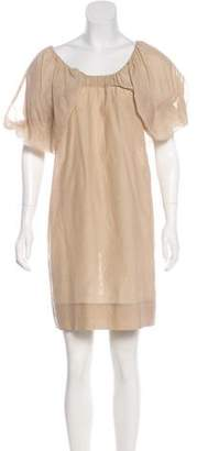 Stella McCartney Mini Scoop Neck Dress