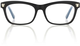 Cartier Eyewear Collection Panthere de acetate glasses