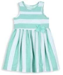 Little Girl's Striped Fit-&-Flare Dress