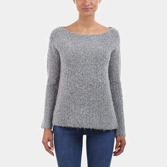 ATM Anthony Thomas Melillo Cozy Open-Neck Pullover Sweater