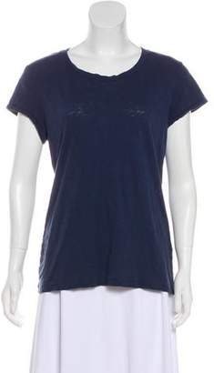 Rag & Bone Scoop Neck Short Sleeve Shirt