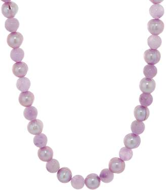 Honora Cultured Pearl & Gemstone Bead Necklace, Sterling Silver