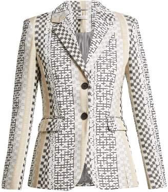 Altuzarra Fenice embroidered single-breasted blazer