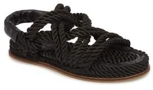 Topshop Fiesta Rope Flat Sandal