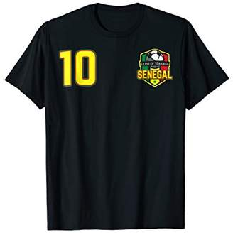Senegal Football Flag World Soccer Cup Jersey 2018 Shirt