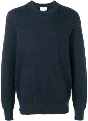 Calvin Klein waffle knit sweatshirt