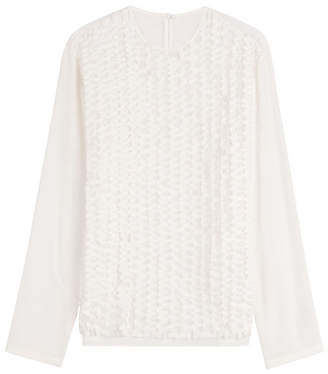 Rochas Textured Blouse