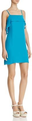Alice + Olivia Etta Ruffle Slip Dress $195 thestylecure.com