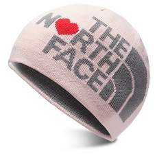 The North Face Girls' Reversible Logo Heart Glow-in-the-Dark Beanie - Kids