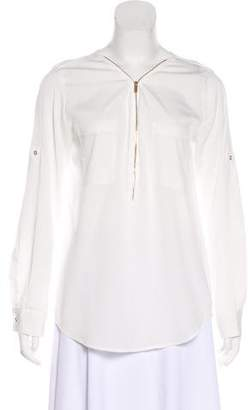 Calvin Klein V-neck Long Sleeve Blouse