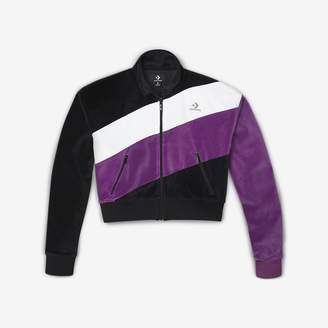 Converse Womens Color-Blocked Track Jacket