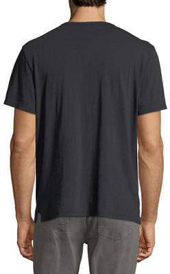 Joe's Jeans Short-Sleeve Slub Henley T-Shirt