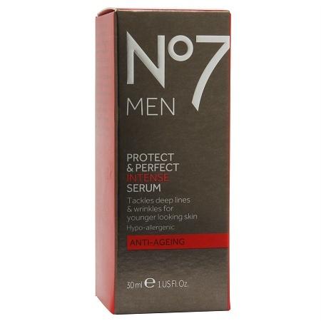 No7 Men Protect & Perfect Intense Serum