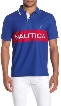 Nautica Short Sleeve Knit Polo