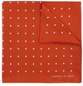 Turnbull & Asser Basic Dot Pocket Square