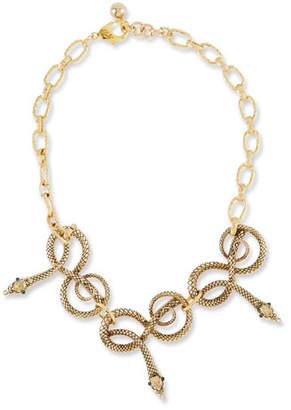 Lulu Frost Moorea Snake Necklace