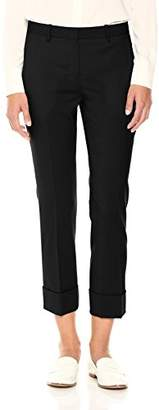 Theory Women's Crop Cuff Pant,6