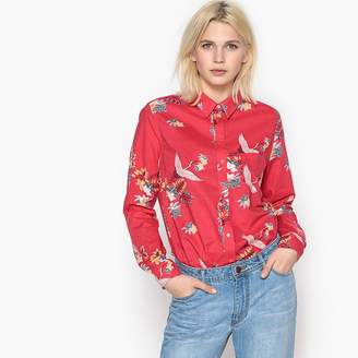 Pepe Jeans Printed Shirt with Polo Collar