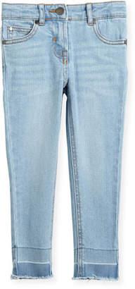 Stella McCartney Nina Cut-Off Skinny Jeans, Size 4-14