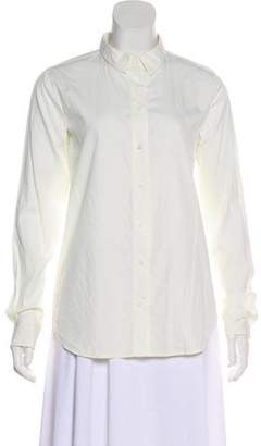 Equipment Long Sleeve Button-Up Top