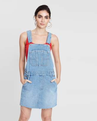 Lee Utility Dungaree Dress