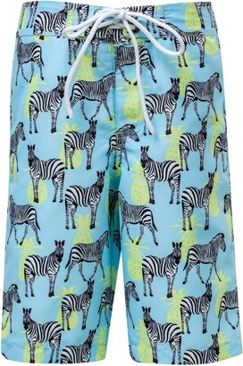 Snapper Rock Zebra Crossing True Board Shorts