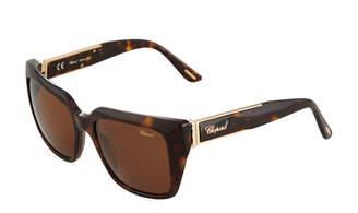 Chopard Oversized Square Acetate Sunglasses