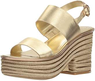 GUESS Women's ninetta Wedge Sandal