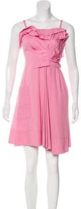 Nina Ricci Asymmetrical A-Line Dress