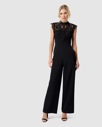 Forever New Louella Lace Bodice Jumpsuit