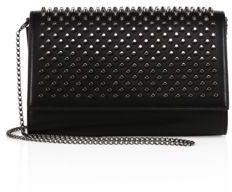 Christian Louboutin  Christian Louboutin Paloma Leather Clutch
