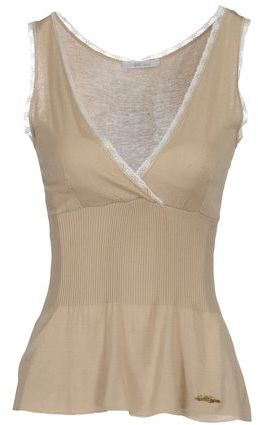 Gold Case Sleeveless sweater