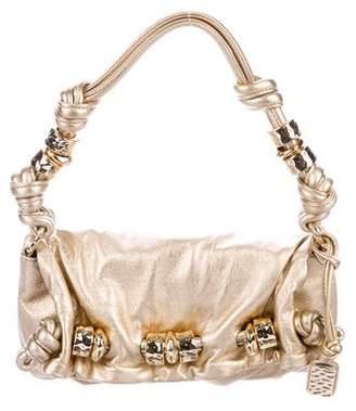 MICHAEL Michael Kors Metallic Leather Shoulder Bag