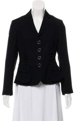 Armani Collezioni Long Sleeve Structured Blazer