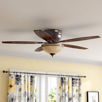 """Andover Mills 52"""" Boulder Brook LED 5 Blade Ceiling Fan"""