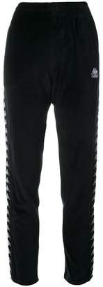 Kappa side panel track pants