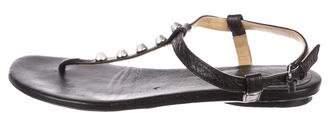 Balenciaga Arena Thong Sandals