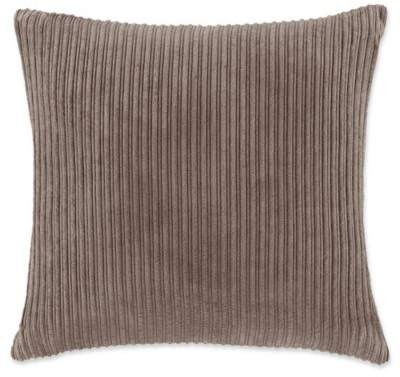Madison Park Jackson Square Throw Pillow in Brown