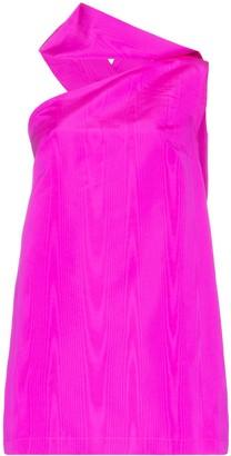 Taller Marmo Swinging Sixties asymmetric mini-dress