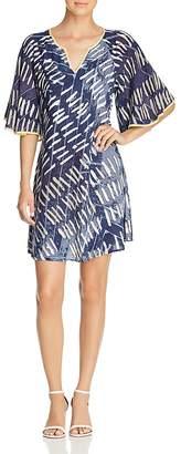 Nic+Zoe Nights In Mojave Abstract-Print Dress
