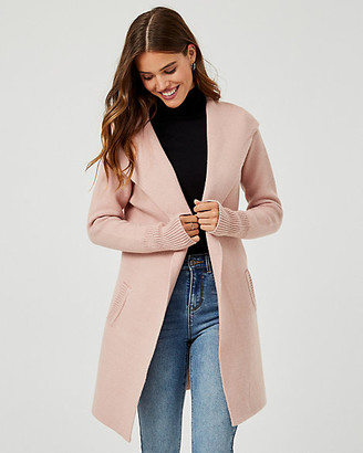 Le Château Knit Hooded Sweater Coat