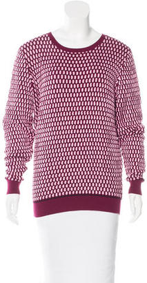 Jonathan Saunders Long Sleeve Crew Neck Sweater $95 thestylecure.com
