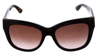 Dolce & Gabbana Tortoiseshell Oversize Sunglasses
