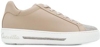 Rene Caovilla embellished toe sneakers