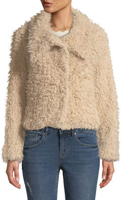 Dex Teddy Bear Snap-Button Coat